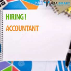 Urgently required experienced accountant for wholesale items
