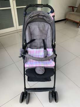 Jette Stroller Jimmy Melange Malang BU Good Condition