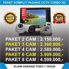 cctv 4 kamera paket full hd Free TV terima beres
