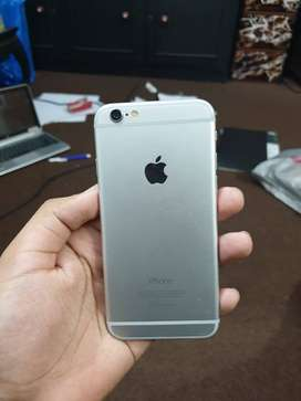 Iphone 6 64gb silver color in good condition