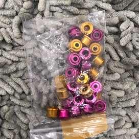 Baut chainring litepro 1 set 5pcs
