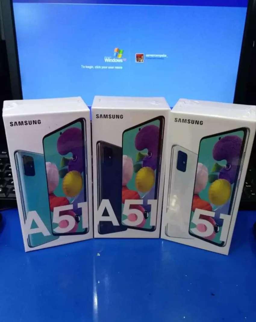 Samsung A51 8/128 garansi sein 1thn giant mega bekas 0