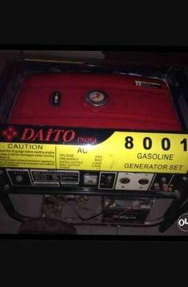 Genset (GENERATOR SET) merk DAITO INOVA 5.0 Kwh