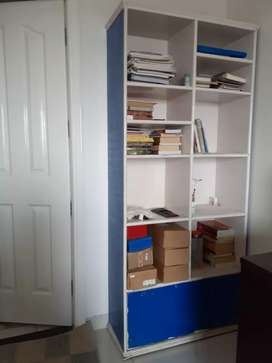 Book shelves and File cabinet