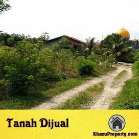 Tanah dijual dekat Mesjid Agung subulussalam
