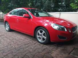 Volvo S60 Red color 2013