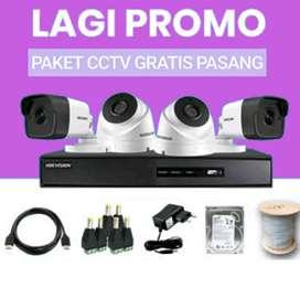 PAKET CCTV GRATIS JASA PASANG BISA PANTAU VIA HP