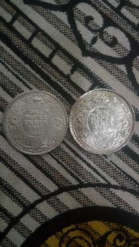 Silver Old coin