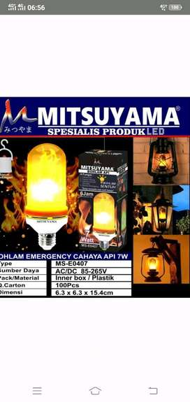led emergency sentuh/bohlam api
