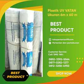 Jual Plastik UV / Greenhouse, cocok untuk Semua Tanaman