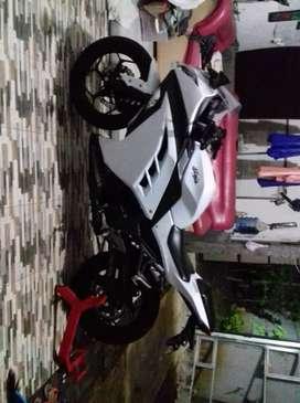 Ninja 250 FI 2014 Putih Full Standard