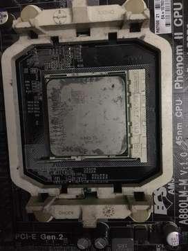 Mobo BCS A880LM-M + prosesor athlon 2