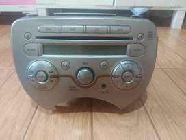Head Unit Nissan March 2013 original