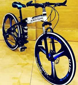 NEW MAC WHEEL 21 GEARS SHIMANO FOLDING CYCLE AVAILABLE. ALL NEW CYCLE