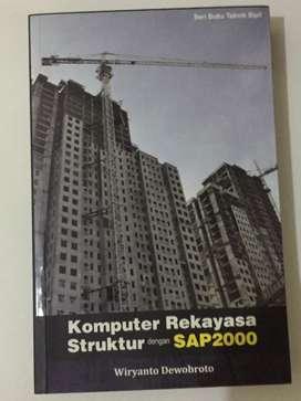 Jual Buku Komputer Rekayasa Struktur dengan SAP2000 by Wiryanto D