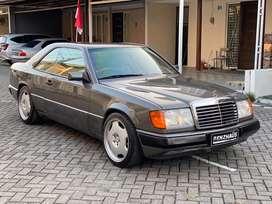 Mercedes-Benz 300CE M/T 1989 Anthracite Grey On Beige