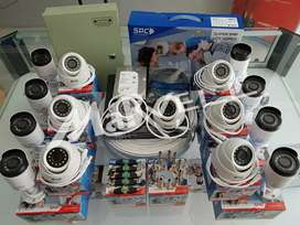 FULL SET CAMERA CCTV BERGARANSI