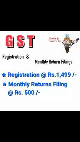 GST Registration @ Rs. 1,499 /-