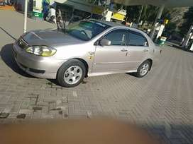 Corolla 2.oD sallon..good condition..new tyres with alloy rims
