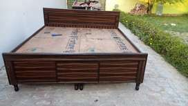 Unused new double bed with box available