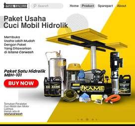 Pusat Penjualan Peralatan Cuci Mobil dan Motor Hidrolik
