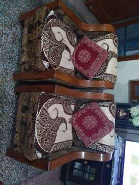 Pure Sissam frame, Five seater Sofa