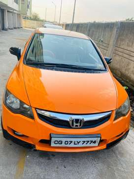 Honda civic automatic with paddle shifter gear