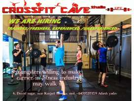 fitness instructor required for fastest growing gym