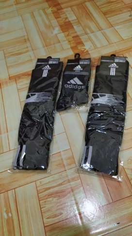 Kaos kaki hitam Adidas sehari hari / bola