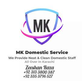 MK Domestic Services We Provide All Kinds of Domestic staff