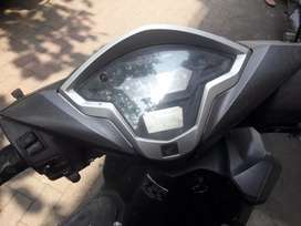 Good condition 3 years used Honda grazia grey color