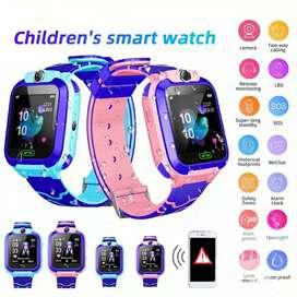 Smartwatch anak q12 life waterproof (ready warna biru)