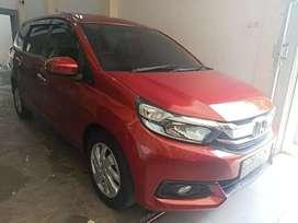 Dijual Honda Mobilio E CVT TH 2017 AT TDP 20jt