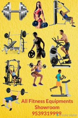 Brand new gym equipments available gym manufacturing ang Imported  ite