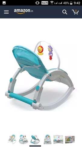 Baby Bouncer Cum Rocker   chair