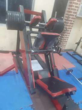 Leg press with hack squat