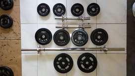 Barbell dumbell set 37kg. FREE ONGKIR