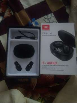 JBL TWS - T12 Hd Audio Wireless headphones