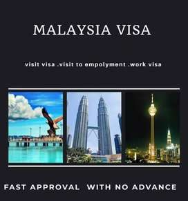 We have Work Visa in Malaysia