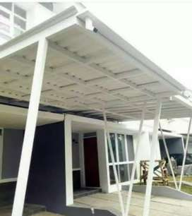 Canopy alderon, kontruksi bajaringan, solarflat, spandek pasir,dll