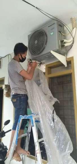 Service ac kulkas mesin cuci