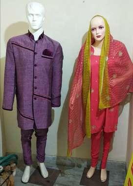 Couple Mannequin