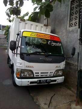 Isuzu Elf light truck mulus murah plat Tangsel