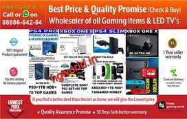 PS4|PS3|PS2|XBOX|Switch|Vr|LED TV|Gaming Items Best Wholesale Prices