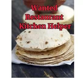 Need Restaurant Helper in Punjabi North Indian