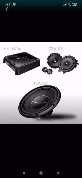 Paket  sound pioneer  D65 c( megah top )