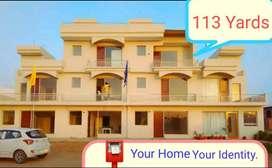 3bhk grand villa starting price 38.90 lacs on Zirakpur Patiala highway