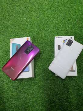 Redmi note 9 (4/128) only 7 months used Samsung A21s (4/64)