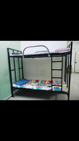 Bunker bed, Bean bag XXXL & Bean stool