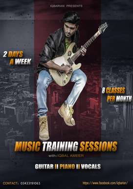 music training classes in karachi free demo home classes also availabl